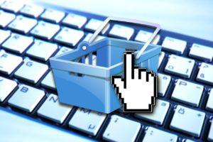online shopping basket