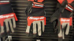 Snap-on gloves